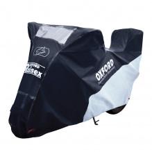 Oxford Rainex Outdoor vel. M, plachta pro motocykl s prostorem pro horní kufr CV506