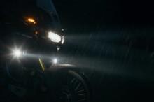 Honda CRF 1000 L Adventure Sports (18-) - Sada mlhových HAWK LED světel s držáky SW-Motech