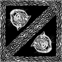 Bavlněný šátek - Tygr