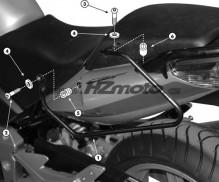 Honda CBF 600 S / N (04-12) podpěry bočních brašen Givi T218