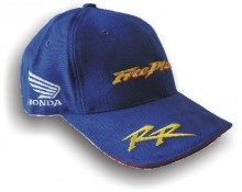 Čepice Honda Fireblade modrá