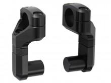 Zvýšení řidítek Vario o 50-60 mm, redukce řídítek z Ø 22 na 28mm, SW-Motech, černé