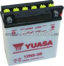 Motobaterie Yuasa 12N5-3B 12V 5Ah