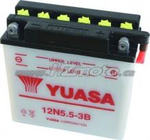 Motobaterie Yuasa 12N5.5-3B 12V 5,5Ah