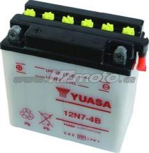 Motobaterie Yuasa 12N7-4B 12V 7Ah
