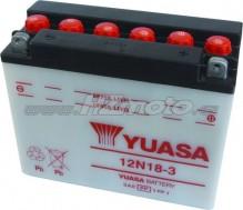 Motobaterie Yuasa 12N18-3 12V 18Ah
