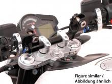 Aprilia Shiver 750 (08-) Redukce řídítek z 22/28 mm, černé provedení