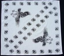 Bavlněný šátek - Orel BW