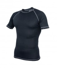 Blue Fly - Termo Pro Funkční prádlo, krátký rukáv, šedé