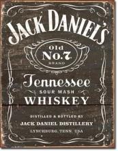 Jack Daniel's - Weathered Logo - plechová cedule, 40x32 cm