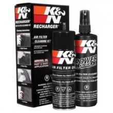 K&N sada pro čištění a impregnaci vzduchových filtrů - KN 99-5000EU