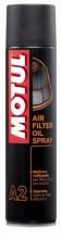 Motul A2 Air Filter Oil Spray 400 ml.